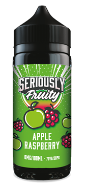 Seriously Fruity Apple & Raspberry 100ml