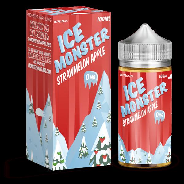 Ice Monster Strawmelon Apple 120ML